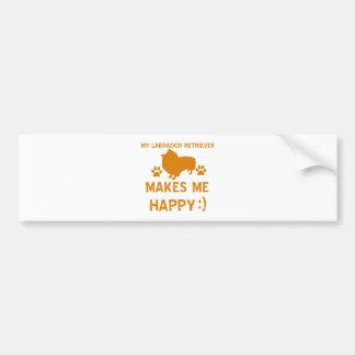 Labrador Retriever gift items Bumper Sticker