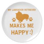 Labrador Retriever gift items Dinner Plate