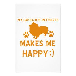 Labrador Retriever gift items Stationery Design