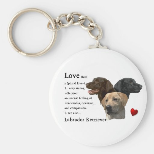 Labrador Retriever Gifts Key Chain