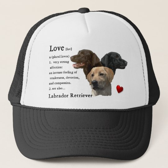 Labrador Retriever Gifts Trucker Hat
