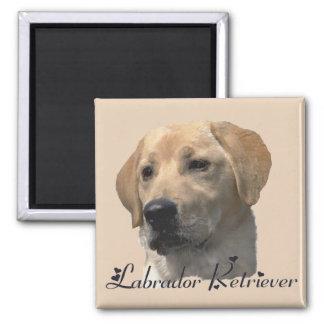Labrador Retriever Gifts Yellow Lab Art Magnet