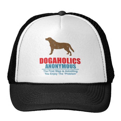 Labrador retriever gorras de camionero