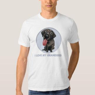 Labrador retriever Granddog (negro) Poleras