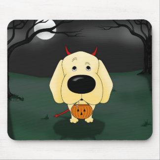 Labrador Retriever Halloween Mouse Pad