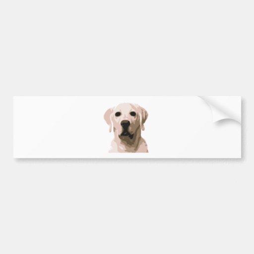 Labrador retriever hangover bumper stickers