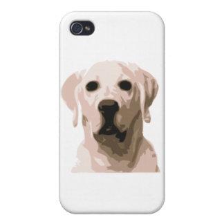 Labrador retriever hangover cover for iPhone 4