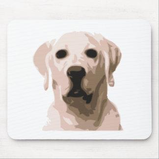 Labrador retriever hangover mouse pad