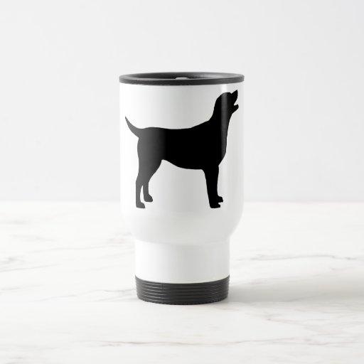 Labrador Retriever (in black) Coffee Mug