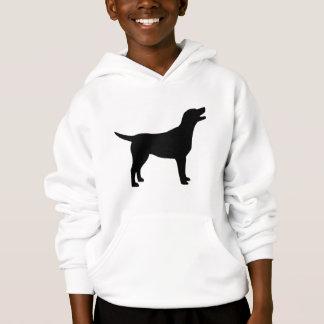 Labrador Retriever (in black) Hoodie