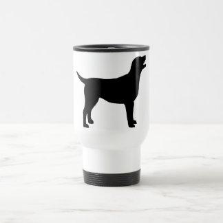 Labrador Retriever (in black) Travel Mug