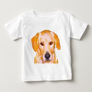 Labrador Retriever in Dazzling Yellows Clothing Baby T-Shirt