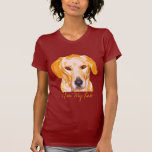 Labrador Retriever in Dazzling Yellows Clothing T-shirts