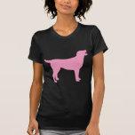 Labrador Retriever (in pink) T Shirt