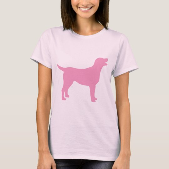 Labrador Retriever (in pink) T-Shirt