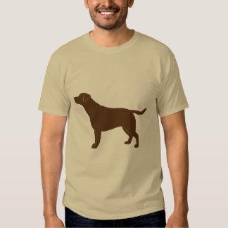Labrador Retriever in Silhouette T Shirt