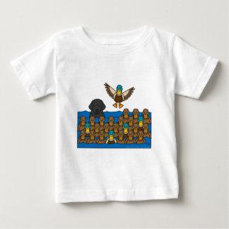 Labrador Retriever in the Ducks Baby T-Shirt