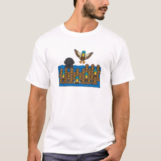 Labrador Retriever in the Ducks T-Shirt