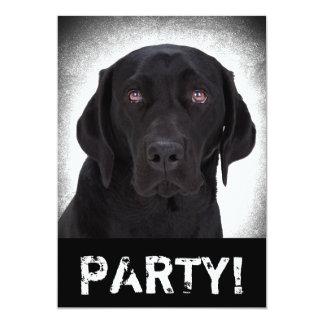 Labrador retriever invitación 12,7 x 17,8 cm