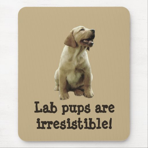 Labrador Retriever Irresistible Mousepad