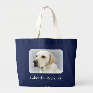 Labrador Retriever Jumbo Canvas Tote Bag