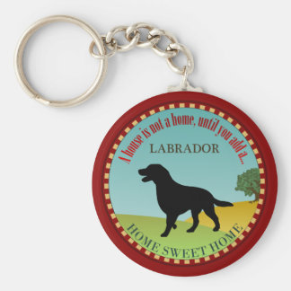 Labrador retriever llavero redondo tipo pin