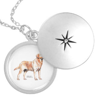 Labrador Retriever Locket Necklace