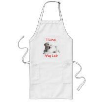 Labrador Retriever Love Apron
