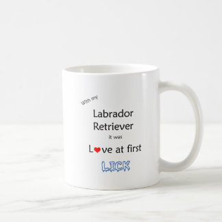Labrador Retriever Love at First Lick Mug