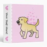 Labrador Retriever Love Binders