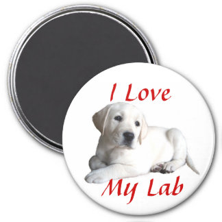 Labrador Retriever Love Magnet
