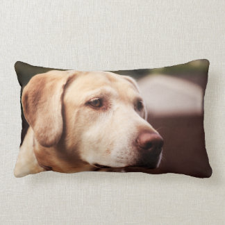 Labrador Retriever Lumbar Pillow