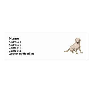 Labrador Retriever  Mini Business Card