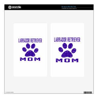 Labrador Retriever Mom Gifts Designs Kindle Fire Skins