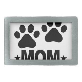 Labrador retriever Mom.png Hebilla De Cinturon Rectangular