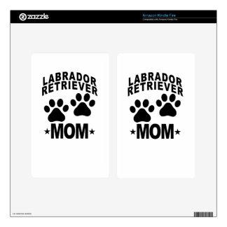 Labrador Retriever Mom.png Skin For Kindle Fire
