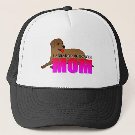 Labrador Retriever Mom Trucker Hat