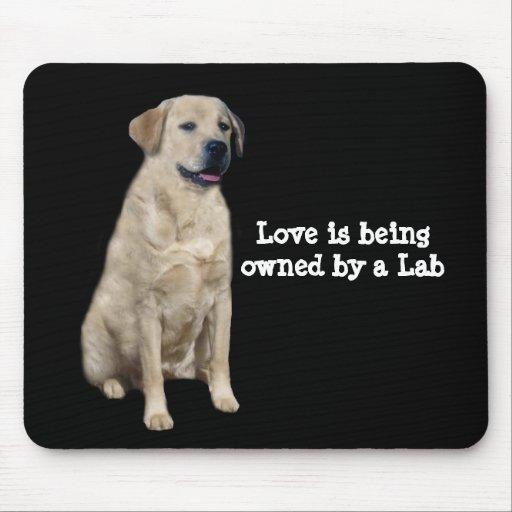Labrador Retriever Mousepad