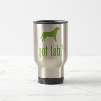 Labrador Retriever 15 Oz Stainless Steel Travel Mug