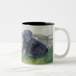 Labrador Retriever Mug Black Puppy