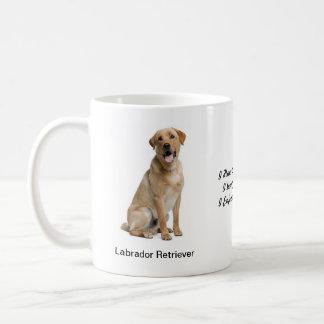 Labrador Retriever Mug - With two images and motif