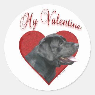 Labrador Retriever My Valentine - Sticker
