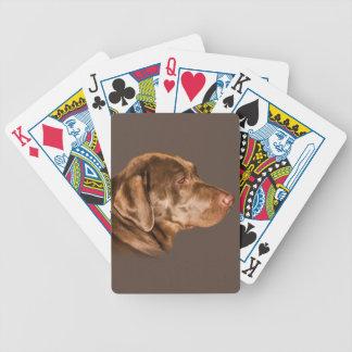 Labrador retriever, naipes, personalizable cartas de juego