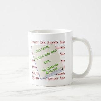 Labrador Retriever Naughty or Nice Mug