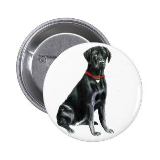 Labrador retriever - negro 1 pins