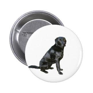 Labrador retriever - negro 2 pins