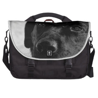 Labrador retriever negro bolsas de portátil