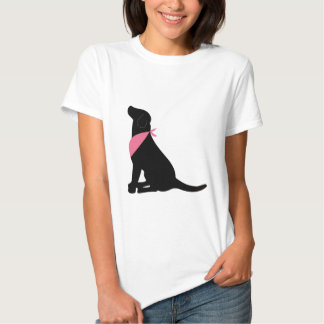 Labrador retriever negro camisas
