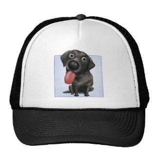 Labrador retriever (negro) gorras
