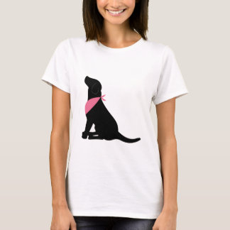 Labrador retriever negro playera